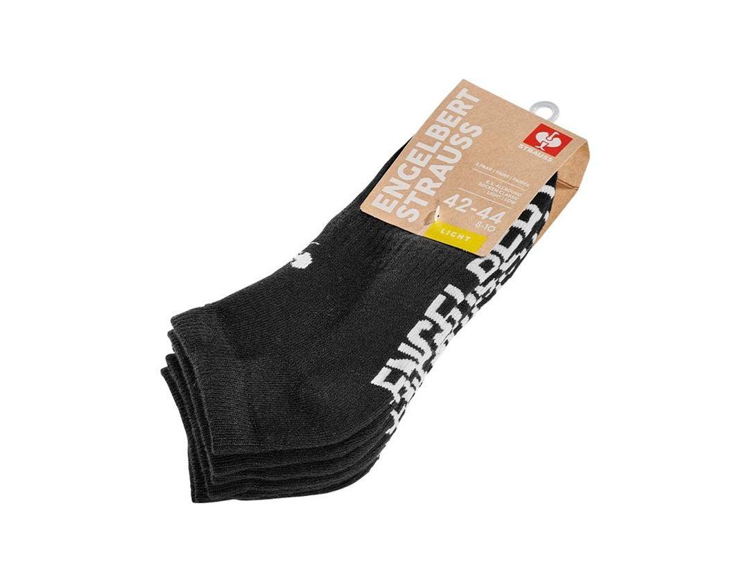 Sokken | Kousen: e.s. Allround-sokken Classic light/low + zwart