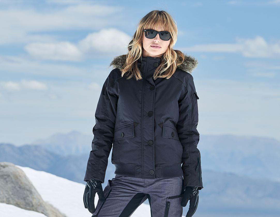 Werkjassen: Winterblouson e.s.vision, dames + pacific