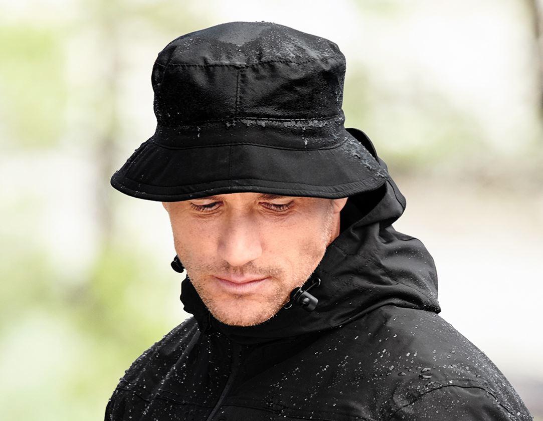 Accessoires: Functionele hoed + zwart