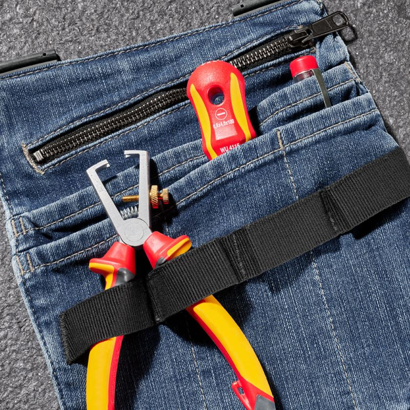 Accessoires: Jeans-gereedschapszak e.s.concrete + stonewashed 2