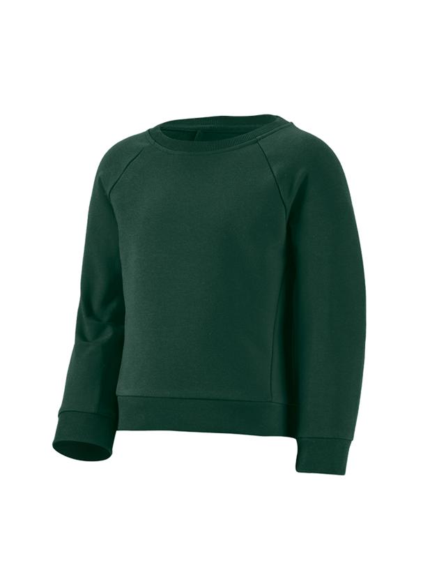 Bovenkleding: e.s. Sweatshirt cotton stretch, kinderen + groen