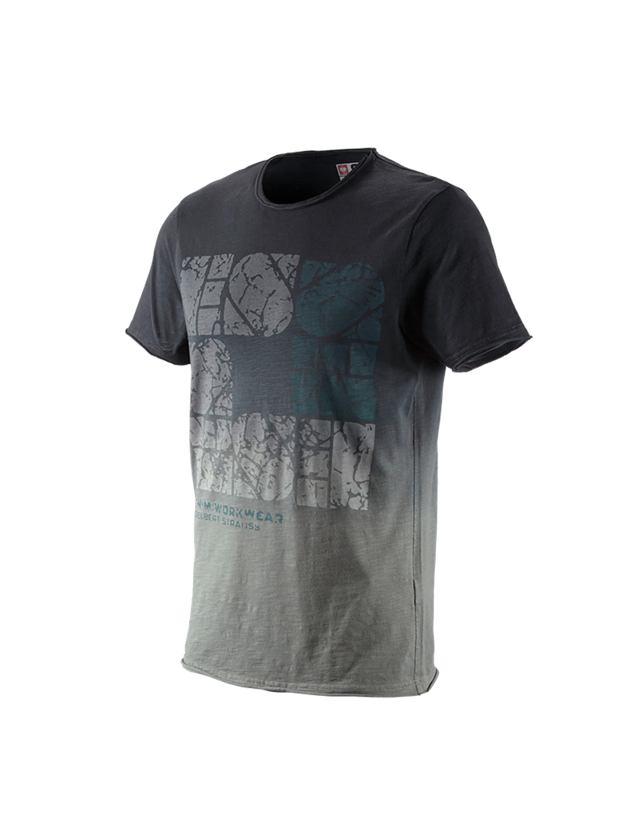Shirts & Co.: e.s. T-Shirt denim workwear + oxidschwarz vintage