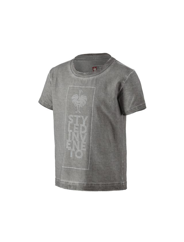 Bovenkleding: T-Shirt e.s.motion ten veneto, kinderen + graniet vintage