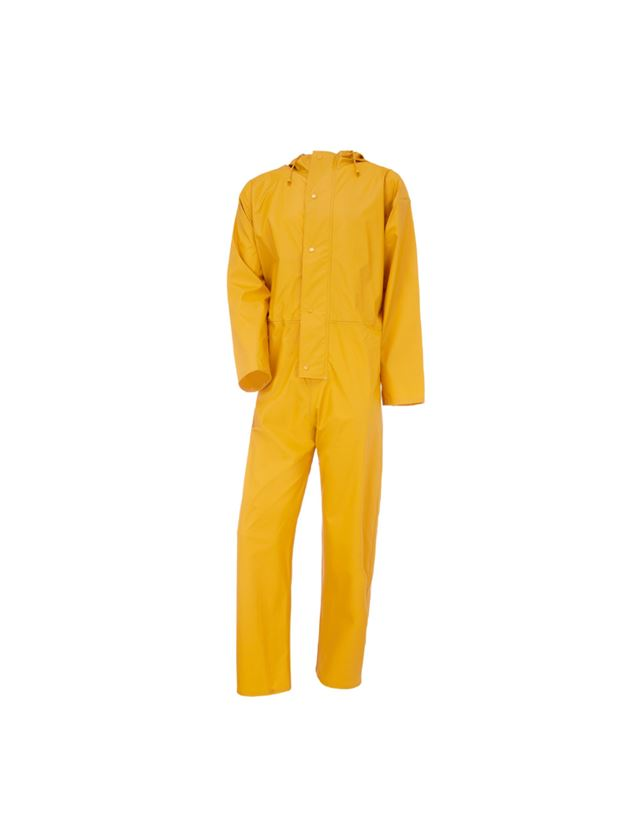 Overalls: Flexi-Stretch Overall + gelb