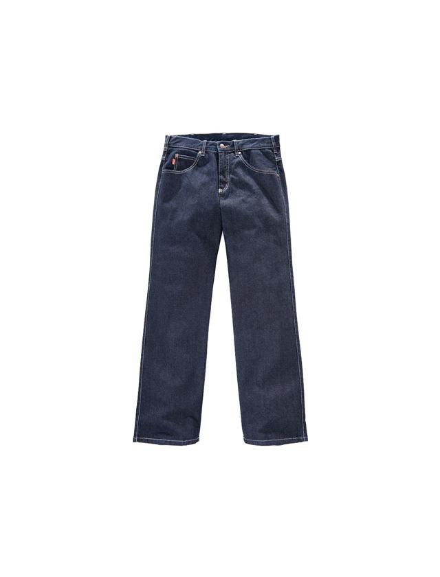 Werkbroeken: Herenjeans Comfortstretch zonder duimstokzak + donkerblauw