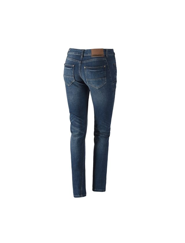 Werkbroeken: e.s. 7-pocket-jeans, dames + stonewashed 2