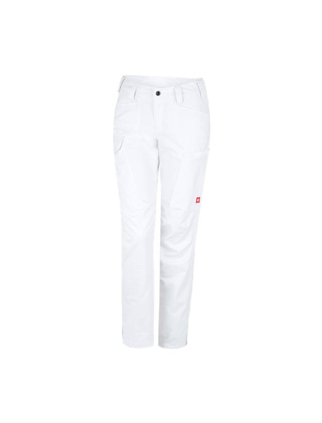 Werkbroeken: e.s. Werkbroek pocket, dames + wit