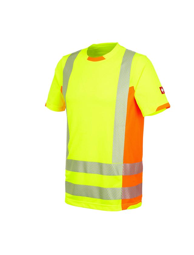 Bovenkleding: Functionele veiligheids-T-shirt e.s.motion 2020 + signaalgeel/signaaloranje