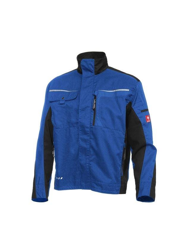 Werkjassen: Werkjack e.s.motion + korenblauw/zwart