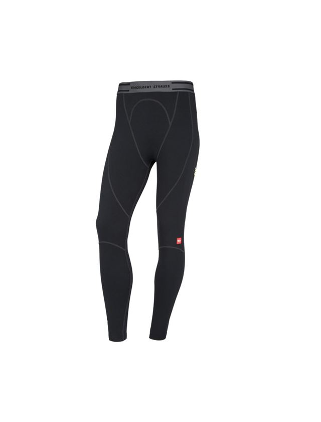 Ondergoed   Thermokleding: e.s. Long boxers clima-pro -warm, heren + zwart