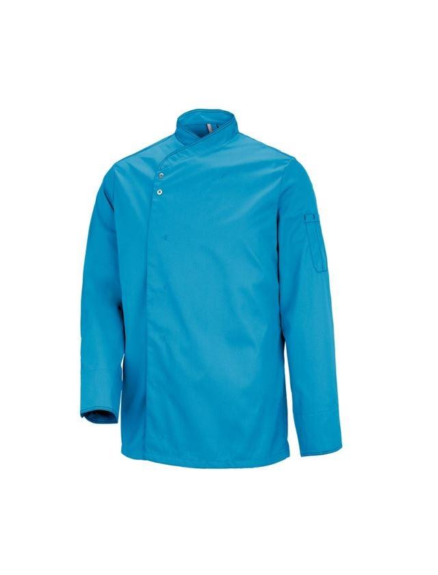 Bovenkleding: Koksjas Lyon + turquoise