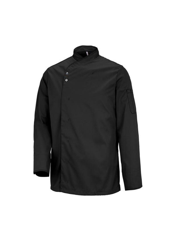 Bovenkleding: Koksjas Lyon + zwart