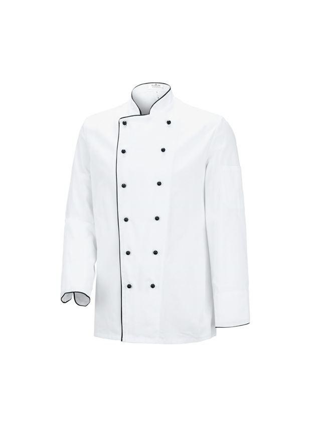 Bovenkleding: Koksjas Image + wit/zwart