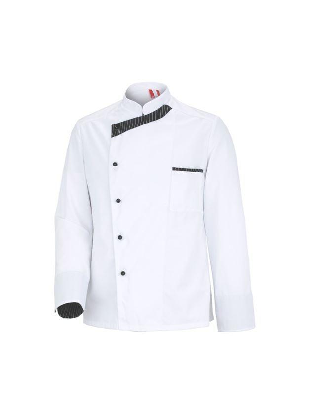 Bovenkleding: Koksjas Elegance, lange mouwen  + wit/zwart