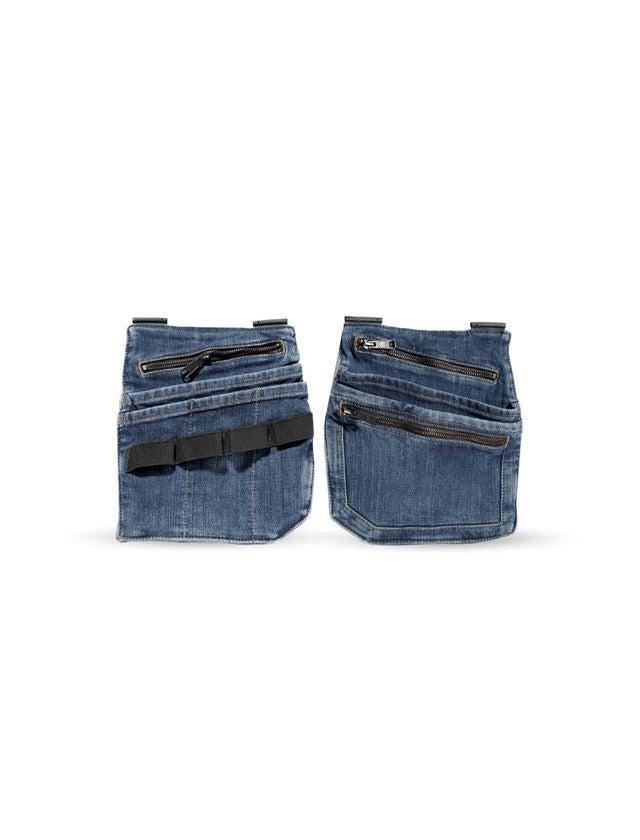 Accessoires: Jeans-gereedschapszak e.s.concrete + stonewashed