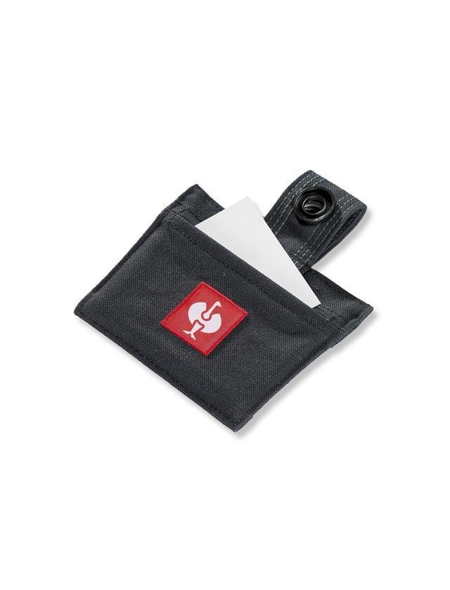Accessoires: Naambordje e.s.roughtough + zwart
