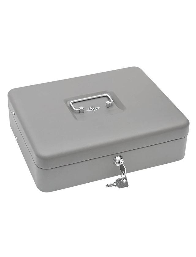 Opbergen: Geldtelcassette met Briefgeldbeugels + grijs