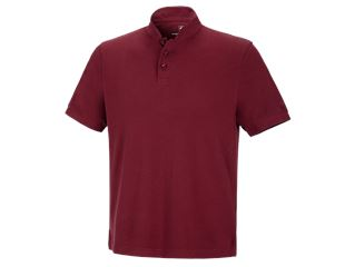 e.s. Polo-Shirt cotton Mandarin