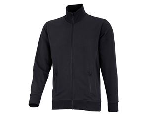 e.s. Veste sweat poly cotton