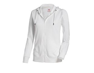 e.s. Hoody-Sweatjack poly cotton, dames