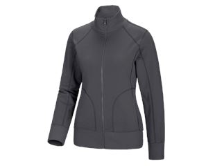 e.s. Sweatjacke poly cotton, Damen