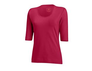 e.s. Shirt 3/4-Arm cotton stretch, Damen