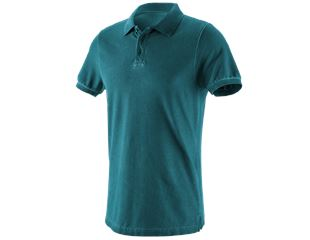 e.s. Polo-Shirt vintage cotton stretch