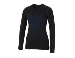 e.s. Functionele-Longsleeve seamless-warm, dames