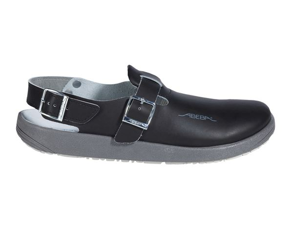 OB: ABEBA OB Dames- en herenslipper Hawaii + zwart