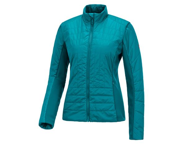 Jacken / Westen: e.s. Funktions Steppjacke thermo stretch, Damen + ozean