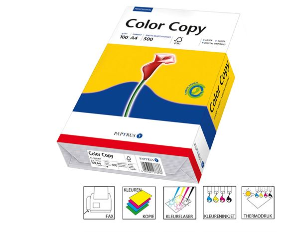 Papier: Speciaal papier Color Copy