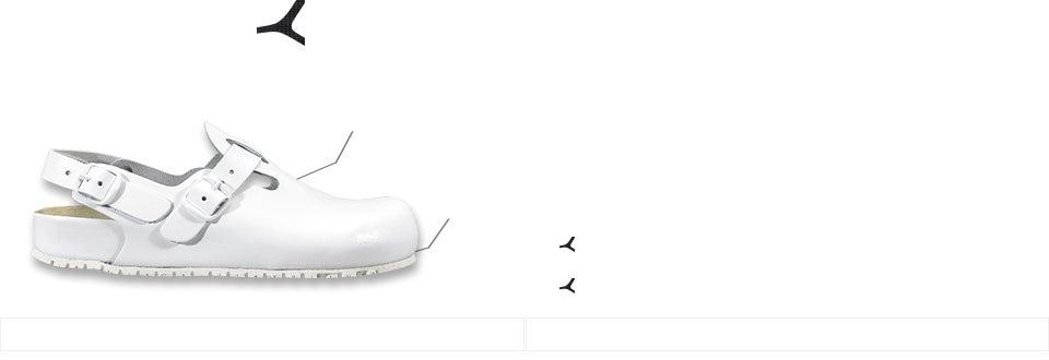 geschlossen leicht REPOSA Ultralight 270 Clogs f/ür Krankenschwestern seitliche L/öcher bequem anatomisches Fu/ßbett SRC-Sohle EVA-Schuhe